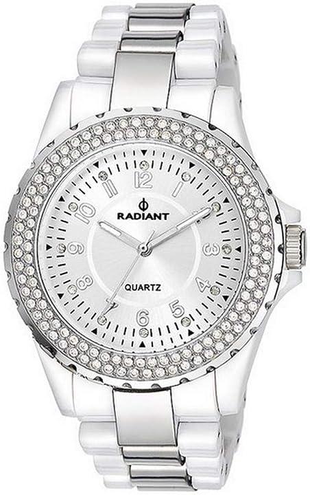 Radiant orologio analogico quarzo donna con cinturino in polycarbonato ra181202