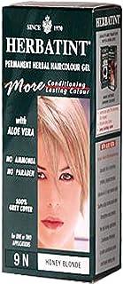 Permanent Herbal Haircolor Gel 9N Honey Blonde 4.56 fl oz (135 ml)