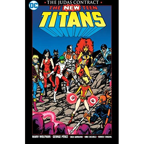 New Teen Titans: The Judas Contract - New Edition (New Teen Titans (1980-1988)) (English Edition)