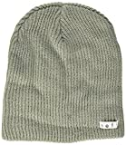 Neff Unisex Daily Beanie, Warm, Slouchy, Soft Headwear, Grey, One Size