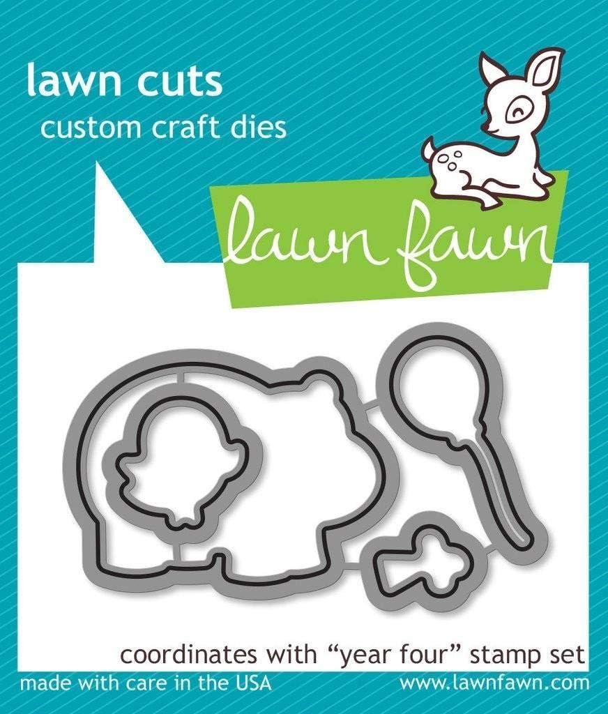 Lawn Fawn Lf660 Cuts Craft 4 Year-end annual account Custom Recommendation Die-Year