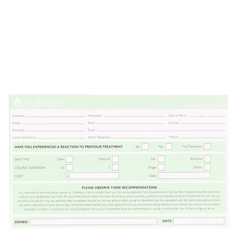 製造ヒップ最後に記録カード Record Cards- SUNBED[海外直送品] [並行輸入品]