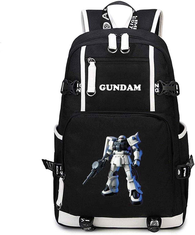 Gumstyle Gintama Anime School Bag Backpack Shoulder Laptop Bags for Boys Girls Students Black 30