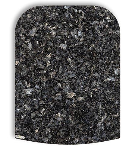 Stone4Slide coolina® Gleitbrett Gleiter aus Granit Blue Pearl passend für Thermomix TM6 TM5 TM31