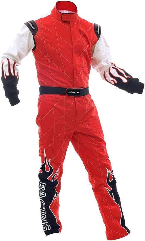 jxhracing RB-C06032 Two Layer San Wholesale Antonio Mall Shiny Racing Suit-SFI rate Kart Go