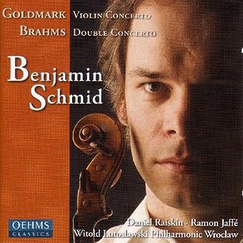 Goldmark: Violin Concerto No. 1 / Brahms: Double Concerto for Violin and Cello