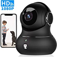 $46 » Wireless Indoor Home Security Camera - 1080P Littlelf Pet Camera IP WiFi Surveillance Baby Monitor with 2-Way Audio, Cloud Service, Night Vision, Remote Detect for iOS/Android