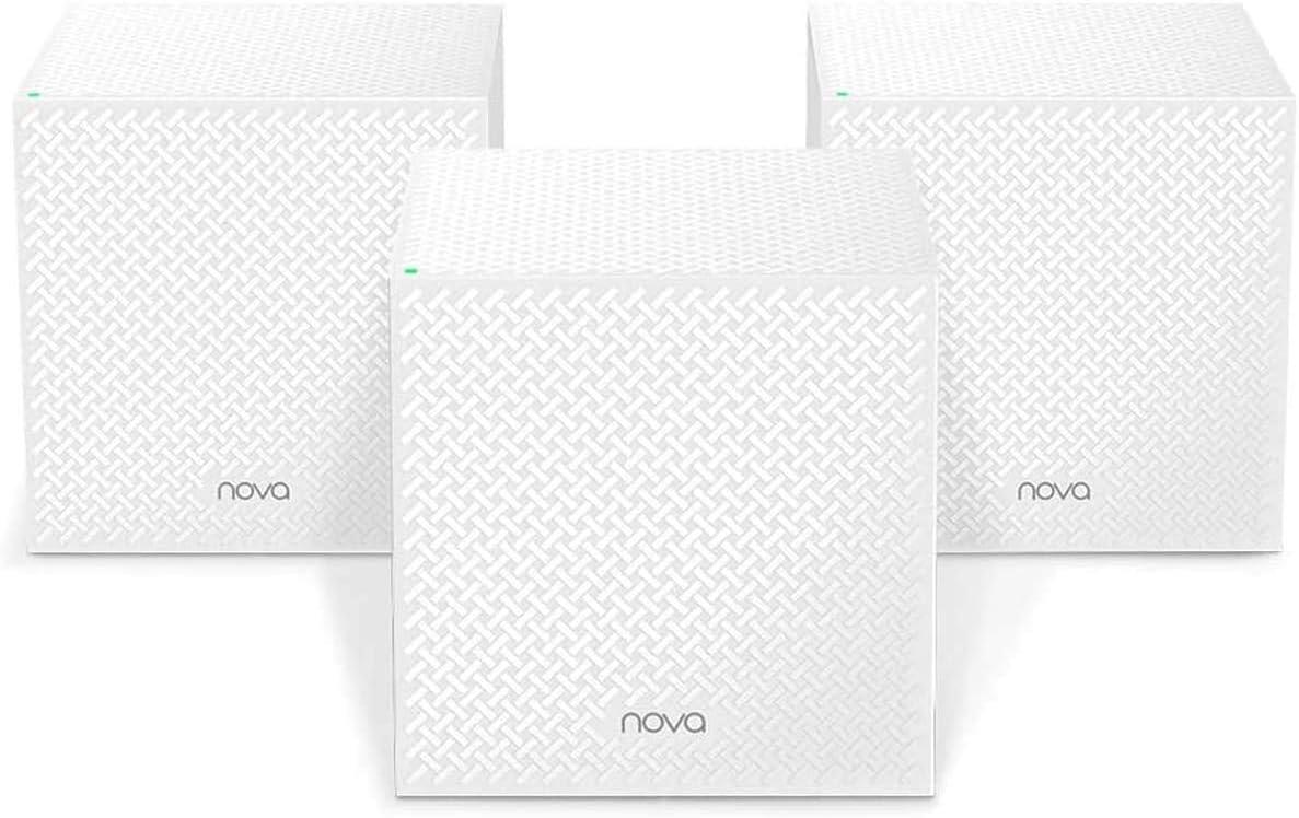 tenda nova mesh wifi network system for gigabit connection