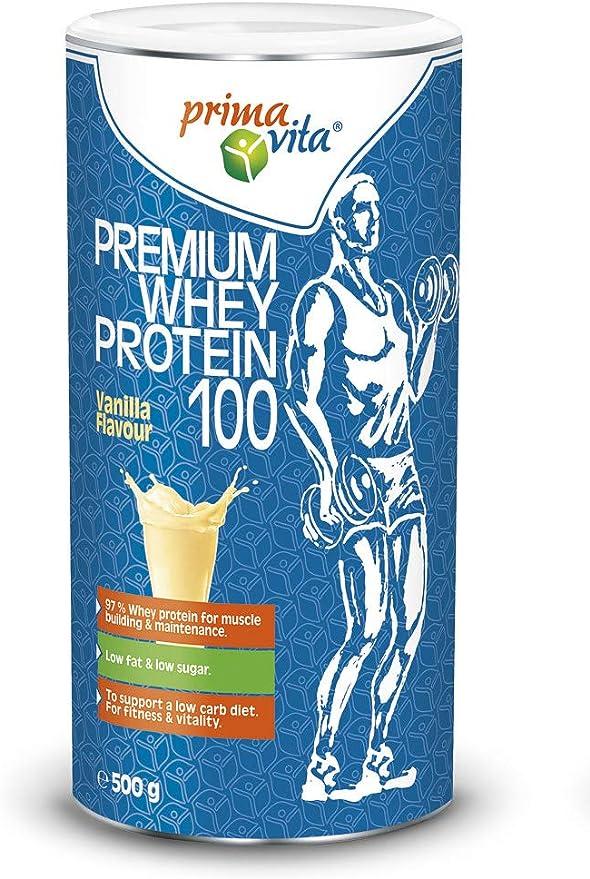 Primavita - Proteína de suero de leche prémium 100 con un 93 ...