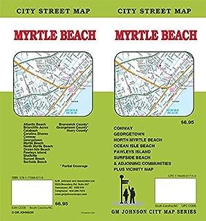 Myrtle Beach, South Carolina / North Carolina Street Map