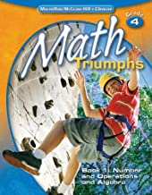 Math Triumphs, Grade 4, Student Study Guide, Book 1: Number and Operations and Algebra (MATH INTRVENTION K-5 (TRIUMPHS))