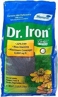 Monterey NLG7122 Dr Soil Acidifier Granules Iron and Elemental Sulfur Acidic Fertilizer, 21 lb, 21 lb