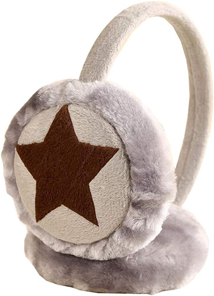 Cute Animal Soft Earmuffs Winter Warm Outdoor Ear Covers Headband Fur Ear warmer,#C7