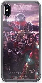 iPhone XR Pure Anti-Shock Clear Case Avengerss 4 Reassemble Stan Lee Movie Shield Comic Superhero