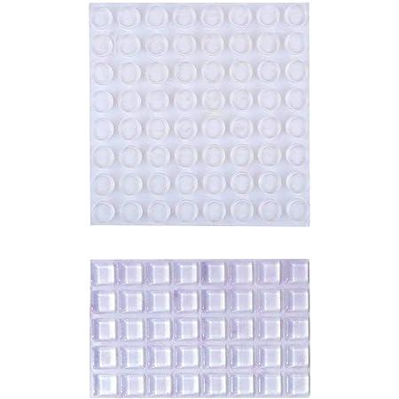 Rubber Feet Self Adhesive Clear Bumpons Genuine Polyurethane Eazi Stops Pads