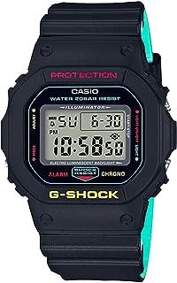 G-Shock DW5600 Black Rasta Edition