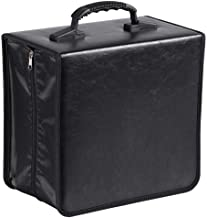 go2buy 400 Disc CD DVD Bluray Storage Holder Book Solution Binder Sleeves Carrying Case Box