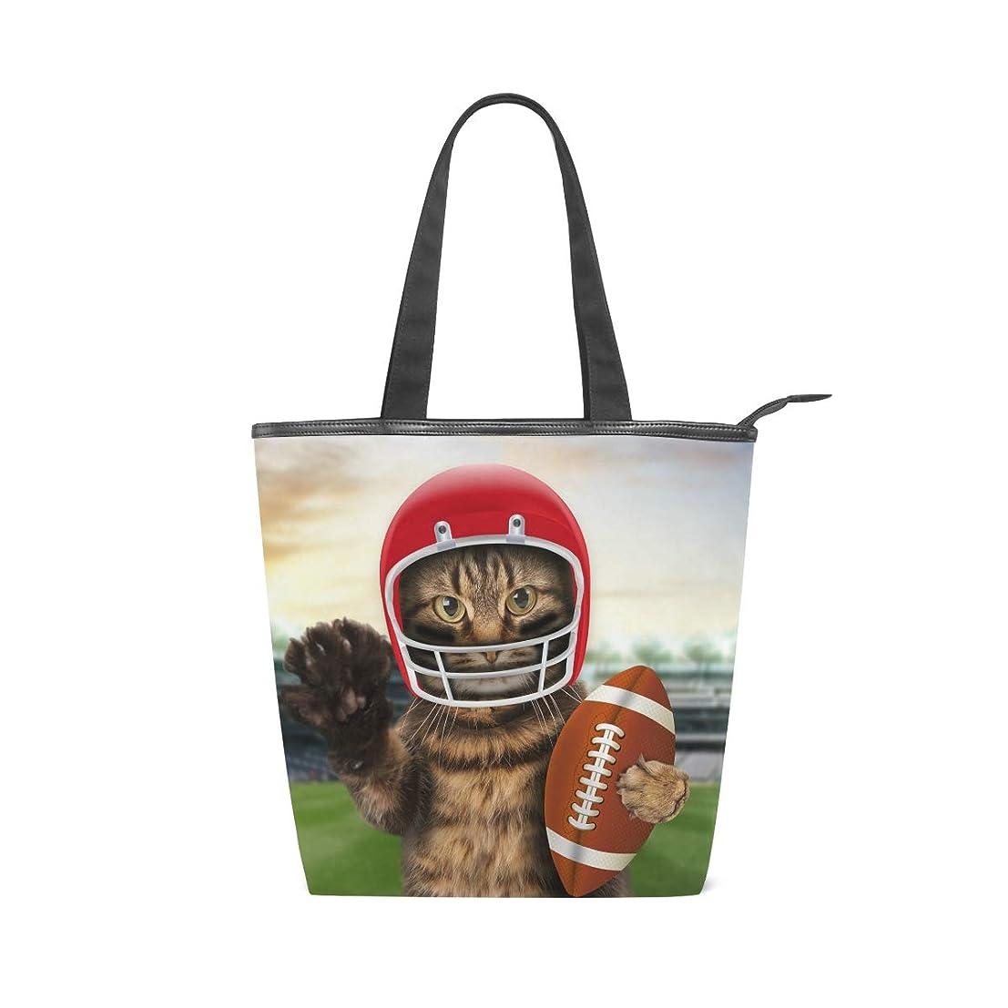 印刷するより平らな時間キャンバス バッグ トートバッグ 多機能 多用途2wayかわいい猫 面白い ショルダー バッグ ハンドバッグ レディース 人気 可愛い 帆布 カジュアル 多機能 両用トートバッグ ァスナー付き ポケット付 Natax