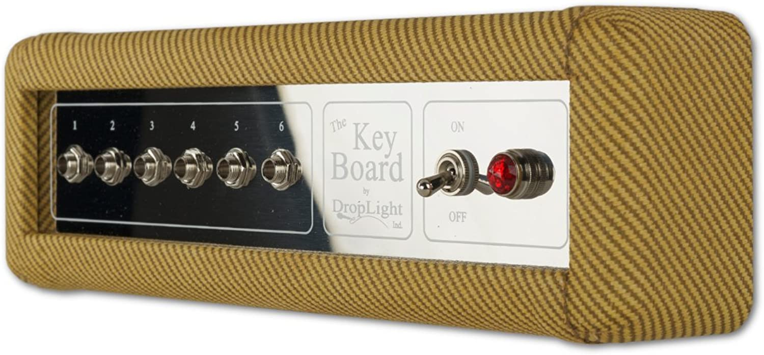 Key Holder   Key Rack   Amp Inspired. American Made   The  Key Board  - Tweed by DropLight Ind.
