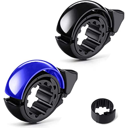 Bicycle Bell Aluminum Alloy Bike Bell MTB Handlebar Alarm Ring Invisible Q bell