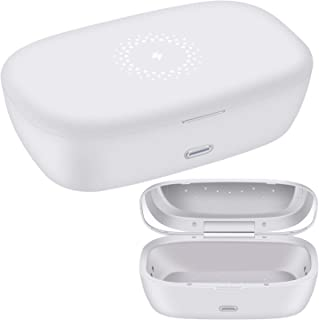 Cell Phone Cleaner, Fatiya Cell Phone Soap Box with Aromatherapy Therapy and Wireless Phone Charging for iOS Android Cellp...