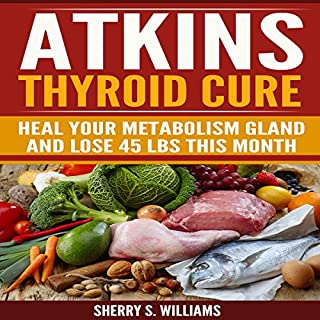 Atkins Thyroid Cure audiobook cover art