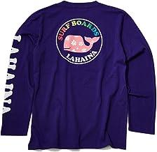 LAHAINA ラハイナ サークル 花クジラ ロング Tシャツ LH1950