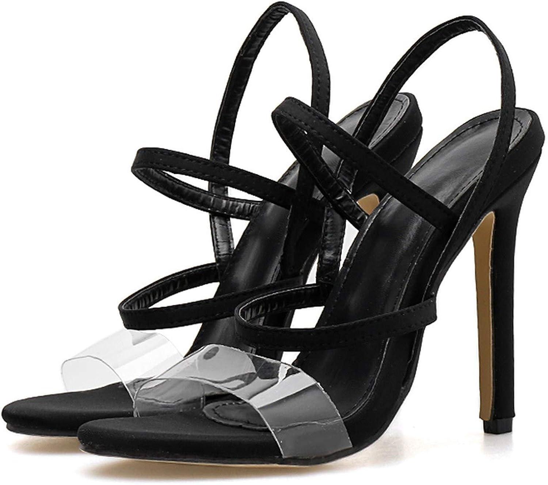Summer 11.5Cm High Heels Cross Strap Sandals Female Fetish Green shoes Lady Transparent Neon Pumps
