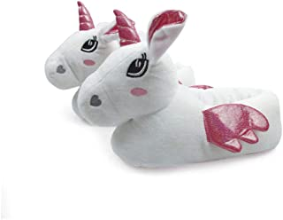ARDITEX Unicorn 3D Closed Slippers by Zaska, Size