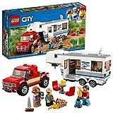 LEGO 60182 City Great Vehicles Camioneta y Caravana (Descontinuado por Fabricante)