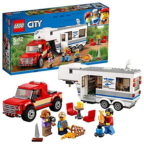 LEGO 60182 City Great Vehicles Pickup & Wohnwagen (Vom Hersteller nicht mehr verkauft)