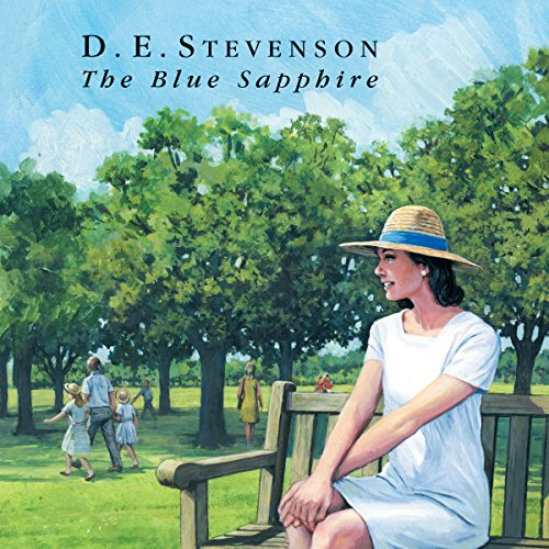 The Blue Sapphire audiobook cover art