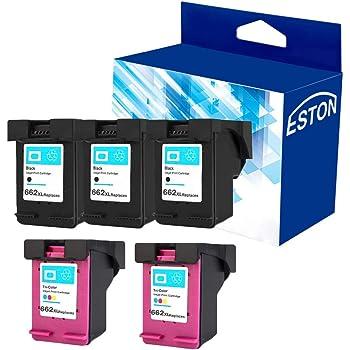 1 Black /& 1 Tri-Color YATUNINK Remanufactured Ink Cartridge Replacement for HP 662XL Black 662XL Color CZ105AL CZ106AL Fit Deskjet Ink Advantage Series Printers