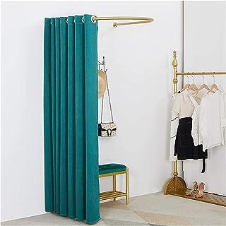 ZXCVB Penderie en forme de tube en acier épais pour chambre à coucher, magasin de vêtements, bureau, 3 couleurs (vert, tai...