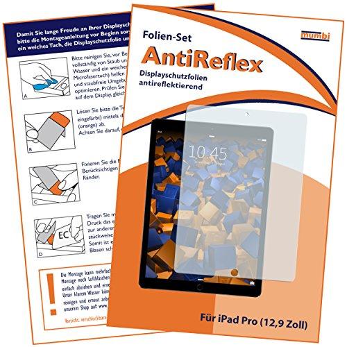 mumbi Schutzfolie kompatibel mit iPad Pro 12,9 Zoll (2015 - 2017) Folie matt, Displayschutzfolie (1x)