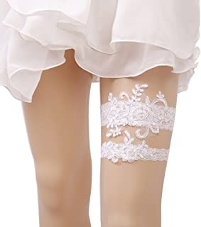 Wedding Lace Garter Set Tradition Vintage For Bridal And Bridesmaid