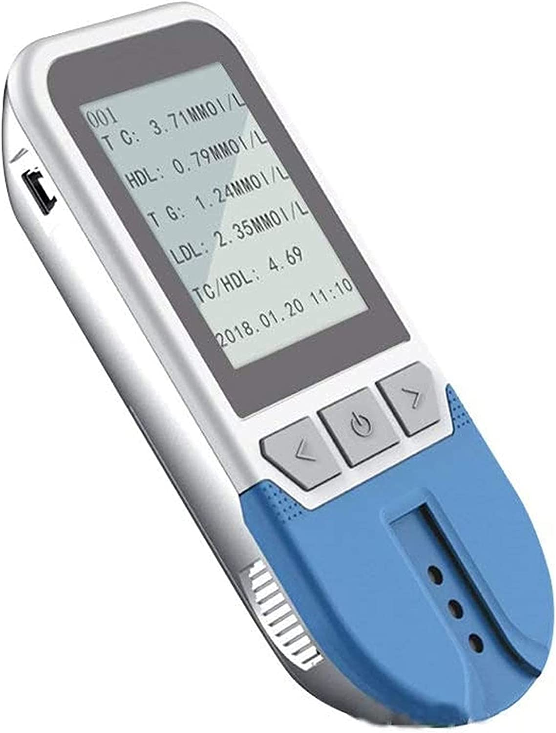 3 in 1 Blood Glucose Meter Home 5-in-1 LDL Triglyce Max 60% OFF Accurate HDL All stores are sold