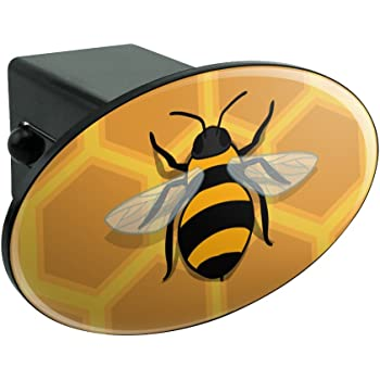 Graphics and More Save The Bees Honey Tow Trailer Hitch Cover Plug Insert 1 1//4 inch 1.25