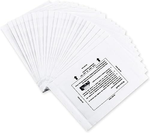 Bonsaii Paper Shredder Sharpening & Lubricant Sheets,24-Pack