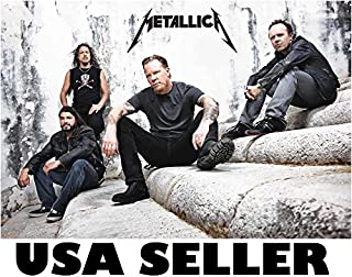 Metallica recent concrete bkgrnd POSTER 34 x 23.5 (sent FROM USA in PVC pipe)