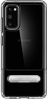 Spigen Samsung Galaxy S20 İçin Darbelere Karşı Ekstra Korumalı Kılıf, Slim Armor Essential S Crystal Clear