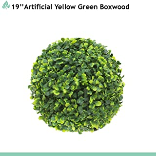 Best artificial round boxwood Reviews