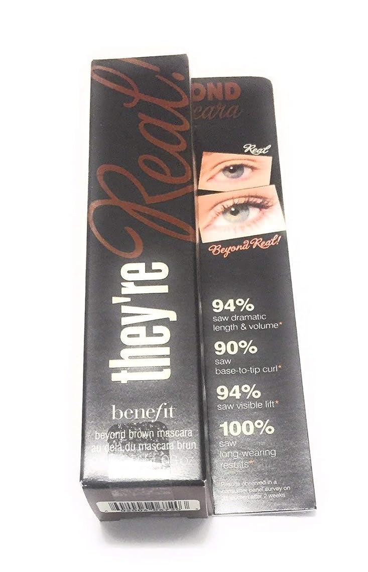 おもしろいスラック残基Benefit They're Real Beyond Mascara, Brown, 0.3 Ounce [並行輸入品]