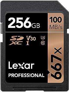 Lexar Professional 667X 256GB SDXC UHS-I/U3 Card (LSD256BNA667)