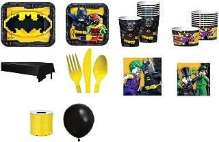Batman Lego Party set, 10 piece Bundle Set