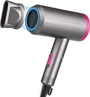 Paubea - Secador de pelo plegable, sin radiación, infrarrojos, bajo ruido, ideal para embarazadas, niños