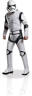 Rubie's Men's Star Wars VII: The Force Awakens Deluxe Stormtrooper White Costume, As Shown, Standard