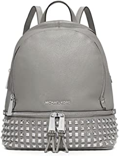 a36a7b4a56ed MICHAEL Michael Kors Rhea Studded Backpack (One Size US Women, Pearl Grey)