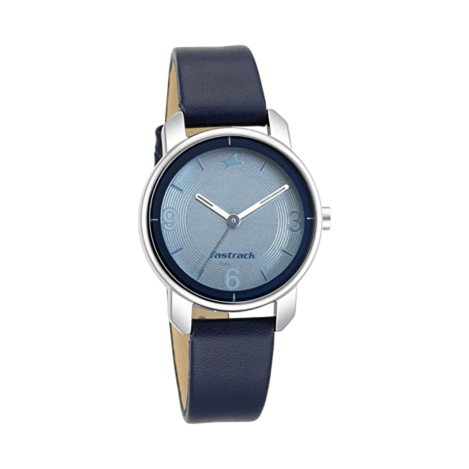 Fastrack Analog Blue Dial Women's Watch Wrist Watches