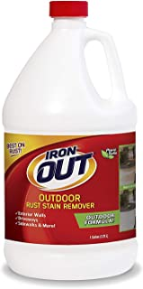 Iron OUT Outdoor Rust Stain Remover, 1 Gallon